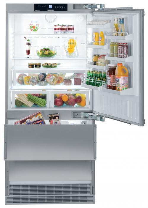 Posvieťte si na uskladnené potraviny - Liebherr ECN 6156