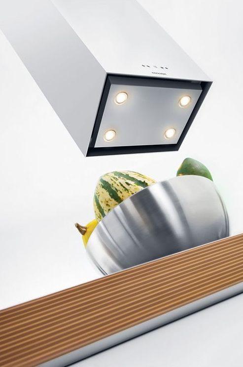 4 LED diódy - Concept OPO-5342n, priestorový odsávač pár