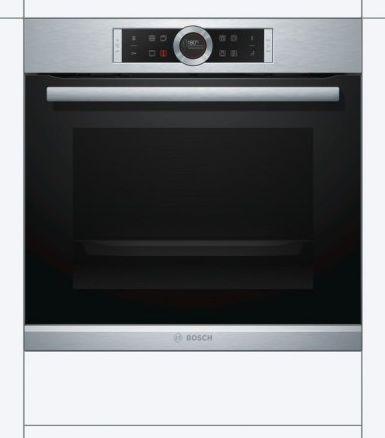 Výnimočne navrhnutá rúra - Bosch HBG655NS1, vstavaná rúra