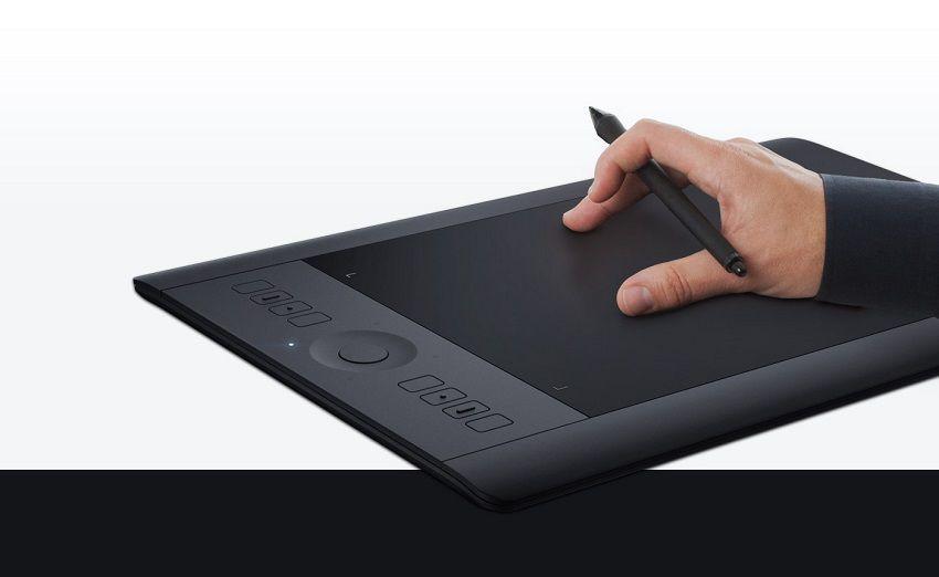 Dotykové ovládanie - Wacom Intuous Pro Creative Pen&Touch Tablet M