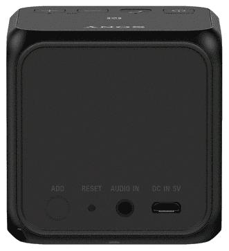Vstupné a výstupné konektory - SONY SRSX11B.CE7