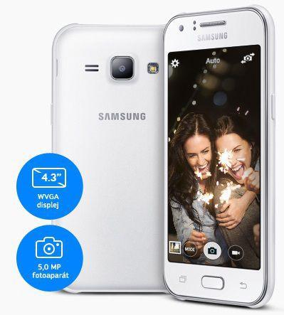 Ostré a kvalitné zábery - SAMSUNG Galaxy J1, Modrá