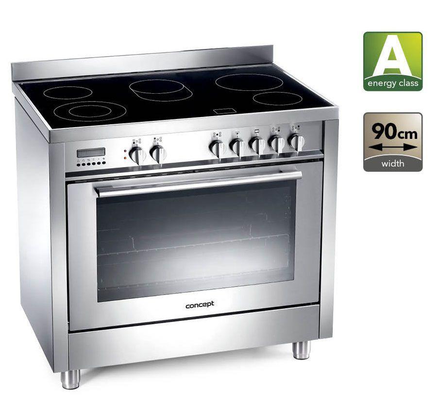 Široké možnosti pri varení a pečení - CONCEPT SVE-8090