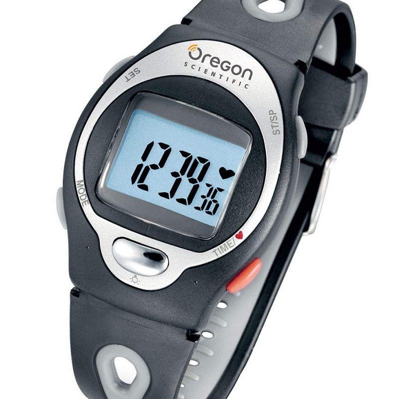 Hodinky pre aktívnych ľudí - OREGON HR102, Hodiny/monitor srdc.rytmu