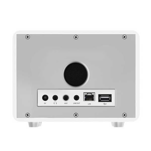 Pripojenie - HAMA IR110, Internetové rádio