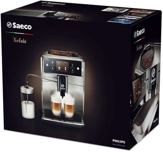 saeco sm7685 00 xelsis super automatick espresso. Black Bedroom Furniture Sets. Home Design Ideas