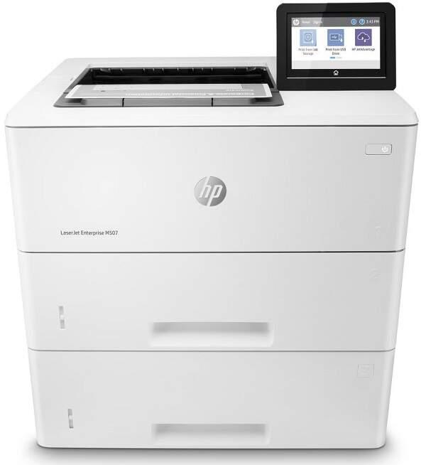 HP LaserJet Enterprise M507x biela