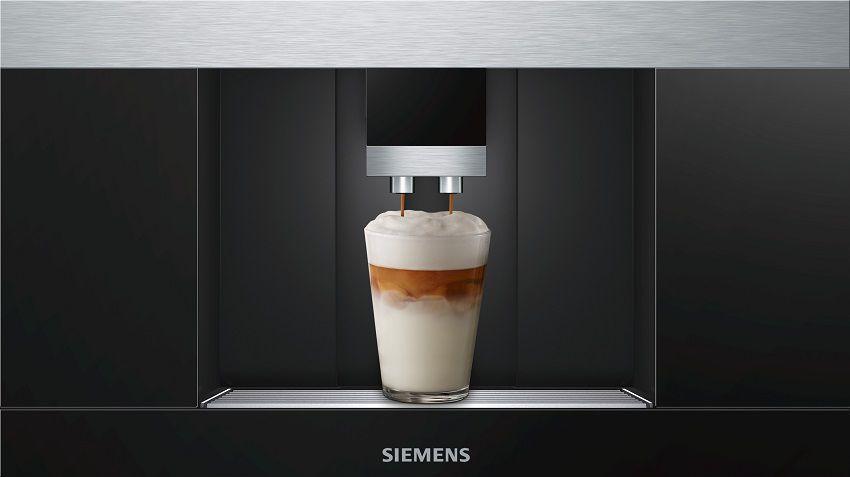 Majte vašu obľúbenú kávu vždy po ruke s praktickou funkciou MyCoffee - Siemens CT636LES1