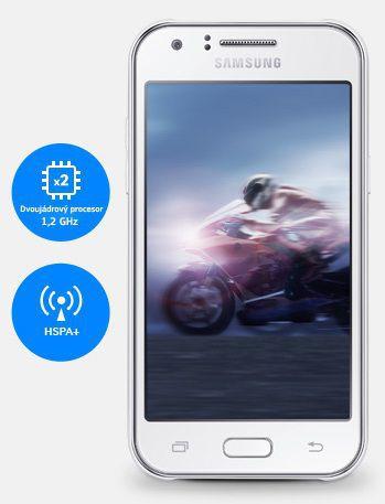 Výkonný chod - SAMSUNG Galaxy J1, Modrá