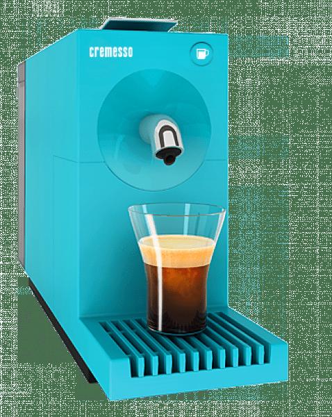 Minimalistický dizajn - CREMESSO UNO Pool Blue, espresso kavovar