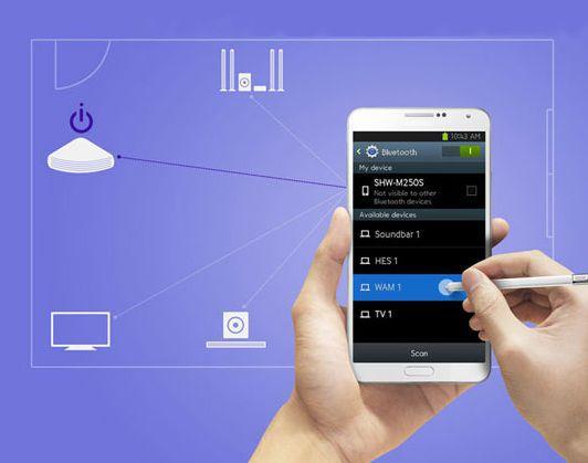 Kompatibilita s mobilnými zariadeniami - SAMSUNG HT-J4550/EN