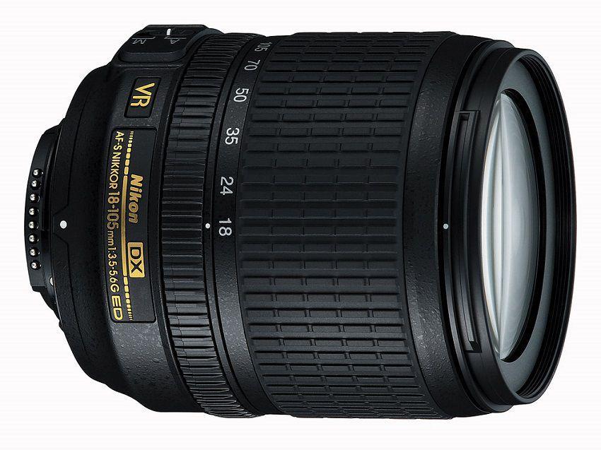 Výkonný objektív so zoomom - 18-105 VR AF-S DX