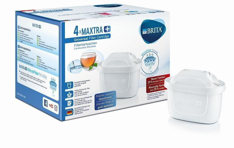 brita maxtra plus n hradn filter 4ks. Black Bedroom Furniture Sets. Home Design Ideas