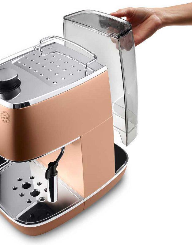 Profesionálna kaviareň môže byť aj vo vašej kuchyni - DELONGHI ECI 341.CP Distinta, Pákové espresso