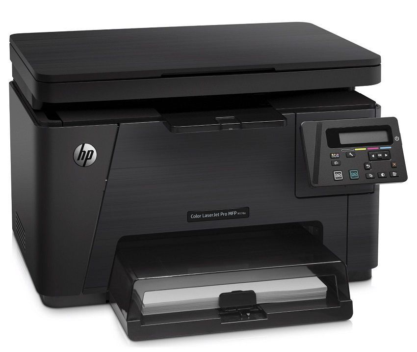 Dvojriadkový displej - HP Color LaserJet Pro MFP M176n Printer