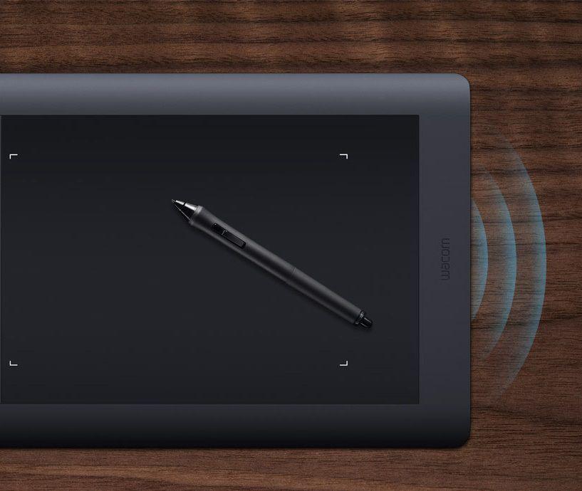 Bezdrôtovosť - Wacom Intuous Pro Creative Pen&Touch Tablet M