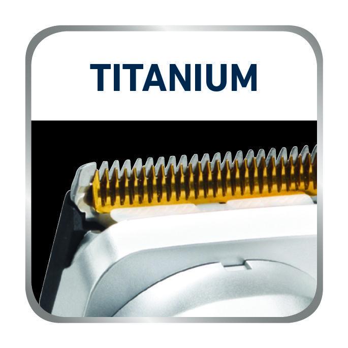 Unikátny profil čepele s ultra ostrými hranami zastrihne všetky typy vlasov  jedným ťahom. Jedinečný tvar hrebeňa zabraňuje zhlukovaniu vlasov. 348c342c929