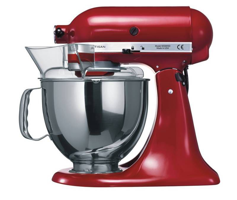 kitchenaid artisan 5ksm150pseer kuchynsk robot. Black Bedroom Furniture Sets. Home Design Ideas