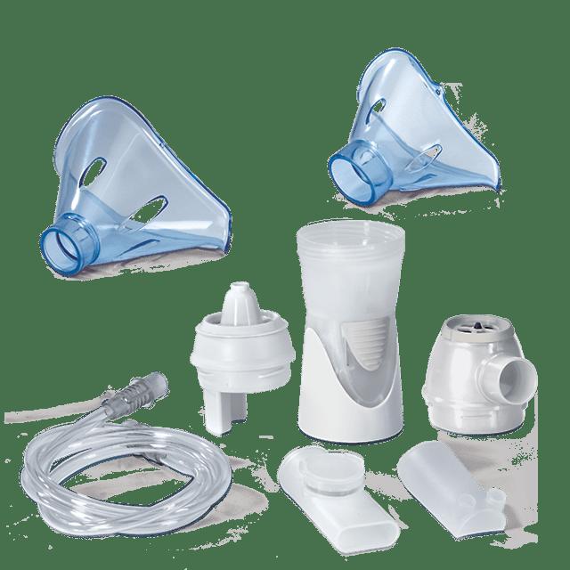 Liečebná pomôcka - MICROLIFE NEB 10A, inhalátor s nosovou sprchou 2v1