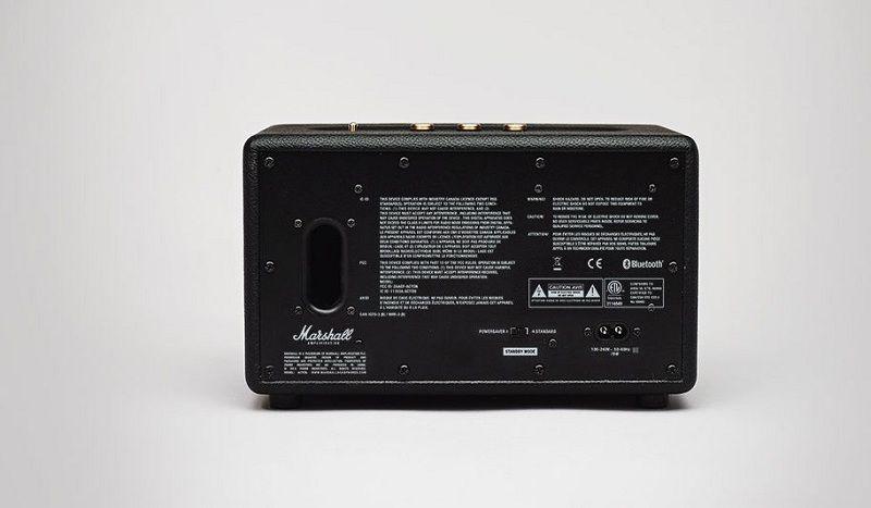 Zabudovaný basový reproduktor  - MARSHALL ACTON, čierny
