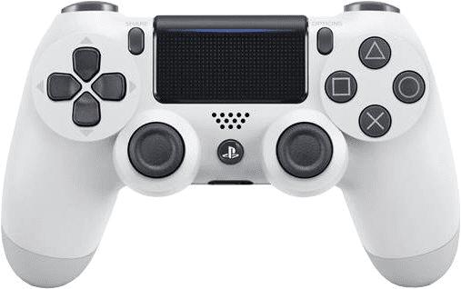 Tvar - PS4 DUALSHOCK 4 WHITE CONTROLLER