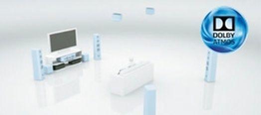 3c8c3eaba ... s inštaláciou zadných reproduktorov, môžu tiež využívať rôzne zvukové  formáty v širokom zvukovom poli s funkciou Surround Enhancer a tiež Dolby  Atmos.