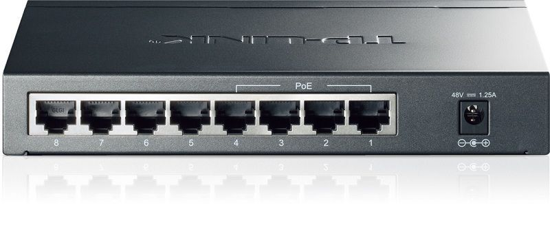 Switch - TP-LINK TL-SG1008P 8-port Gigabit Switch