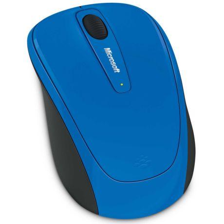 Microsoft L2 Wireless Mobile Mouse 3500 (Cyan Blue) - myš