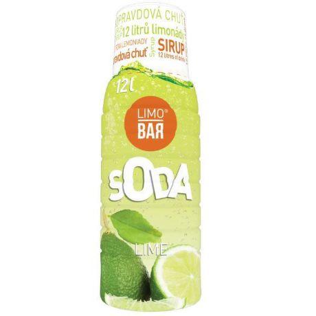 LIMO BAR Sirup Limetka 0,5l