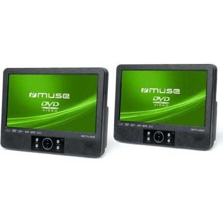 MUSE M-995CVB, Prenosné DVD do auta, 2x9