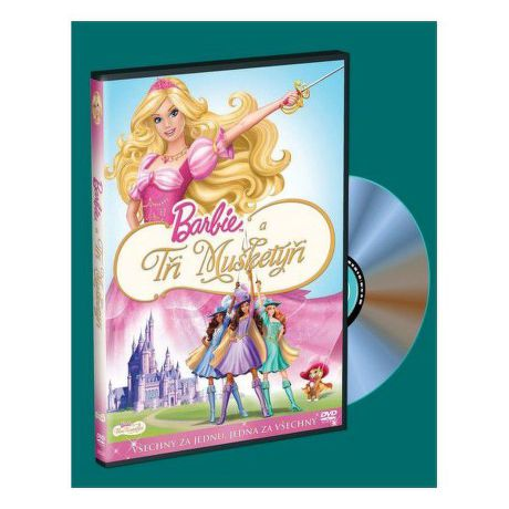 DVD F - Barbie a tři mušketýři