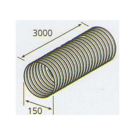 ELICA 1052 A, plastove rozvody 125mm