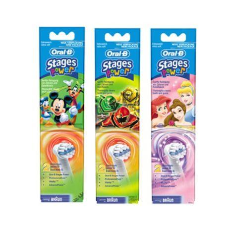 BRAUN EB 10-2K Elektro, detske nahr. zubne kefky