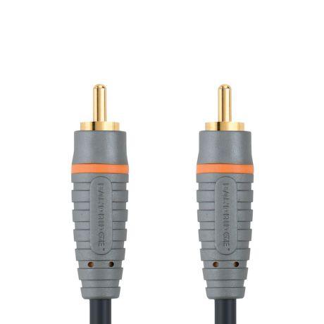 Bandridge BAL4801 CINCH digitálny audio koax kábel, 1m