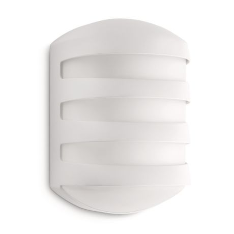 PHILIPS 16937 Ecomoods wall lantern white 1x20W 2