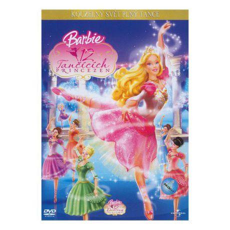 DVD F - Barbie a 12 tančících princezen