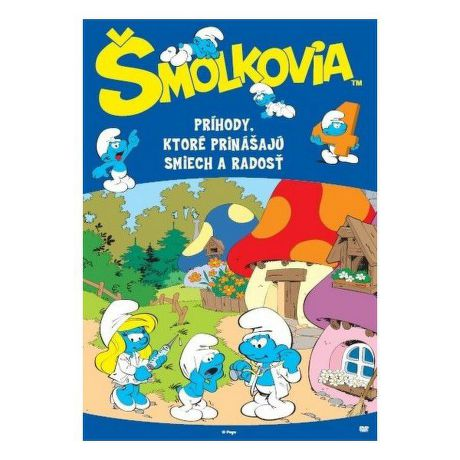 DVD F - Šmoulové 4