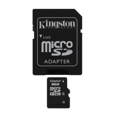 KINGSTON 8GB MIKRO SDHC Card Class 4