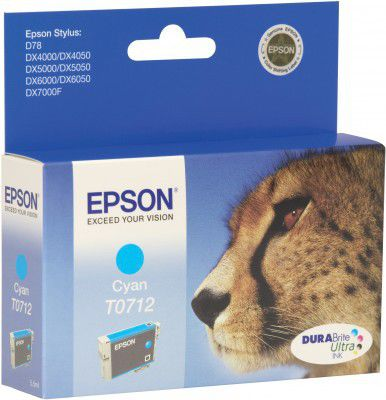 EPSON EPCT071240 cyan, cartridge