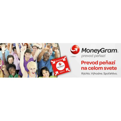 MoneyGram - prevod peňazí do zahraničia