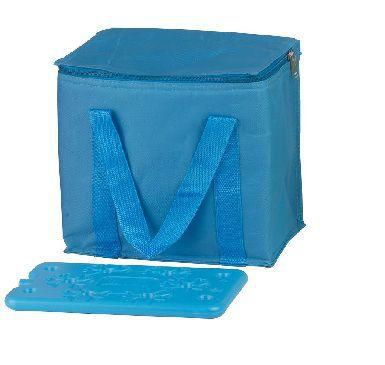 COOL-IT BF-41994-B, chladiaca taška cez rameno modrá (objem 7l) a velká chladiaca vložka