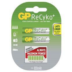 GP B0818 ReCyko - AAA (HR03) 820mAh, 2 ks