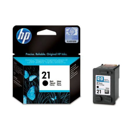 HP C9351AE Black náplň No.21 BLISTER