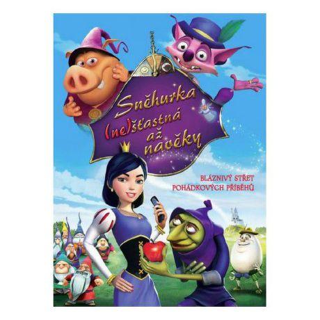 DVD F - Snehulienka ne(šťastná) až na veky (pošetka)