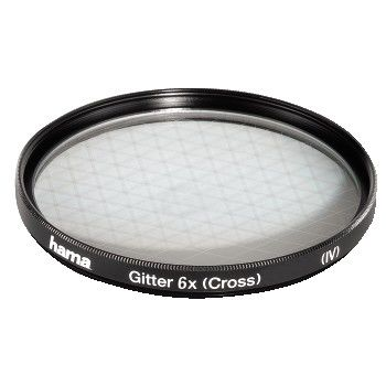 87252 HAMA GITTER/CROSS 6X 52MM