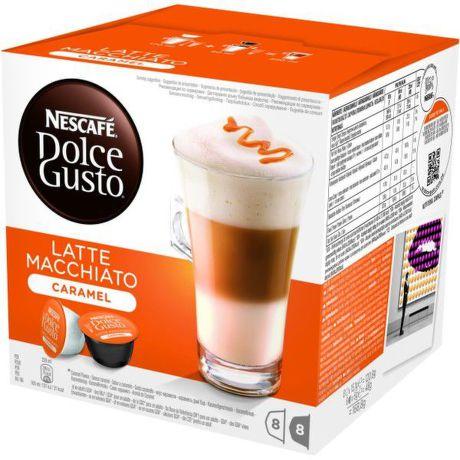 NESCAFE Latte macchiato caramel, kapsulova kava