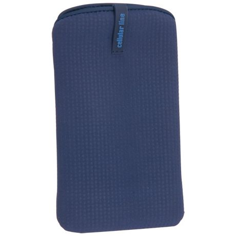 CellularLine púzdro SLEEVE nabuko XL, modré