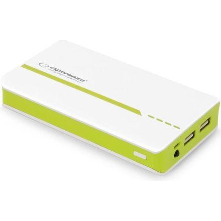 Esperanza EMP107WG, 11000 mAh (bielo-zelená)
