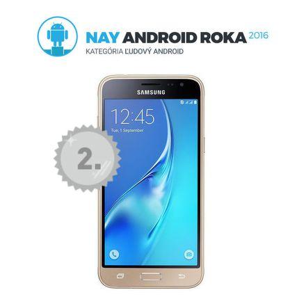 Samsung Galaxy J3, Dual SIM (zlatá)