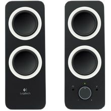 LOGITECH Z200 Speakers, Midnight Black